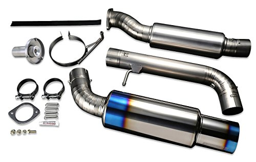 anium Exhaust System for Nissan 370Z Z34 VQ37VHR - TB6090-NS02A ()