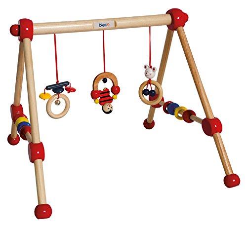 KG Bieco 23000004 - My first Gym aus Holz 54 x 54 x 48 cm