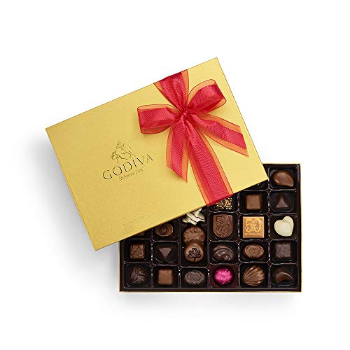 Godiva Chocolatier Godiva Chocolatier Limited Edition 2019 Valentines Day Ballotin, 36 Count Gift Box, Gifts for Her, 14.3 Ounce