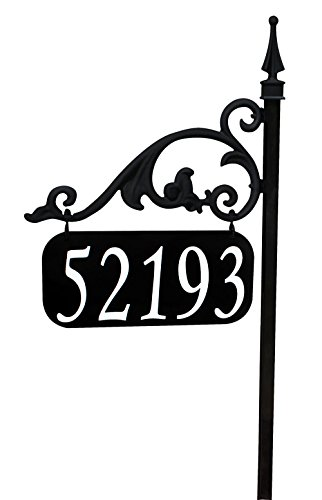 Annandale Double Sided Reflective Address Sign 30