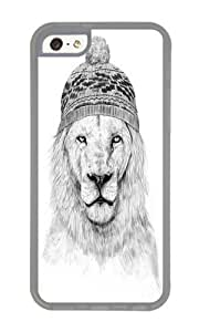 Apple Iphone 5C Case,WENJORS Unique Winter is coming Soft Case Protective Shell Cell Phone Cover For Apple Iphone 5C - TPU Transparent