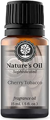 Cherry Tobacco Fragrance Oil (15ml) For Cologne, Beard Oil, Diffusers, Soap Making, Candles, Lotion, Home Scents, Linen Spray, Bath Bombs