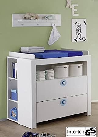 Chambre de bébé OLIVIA Kit complet en blanc avec ...