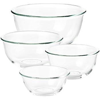 Amazon.com: Good Grips 1 Prep tazón de vidrio y 3 cuencos de ...
