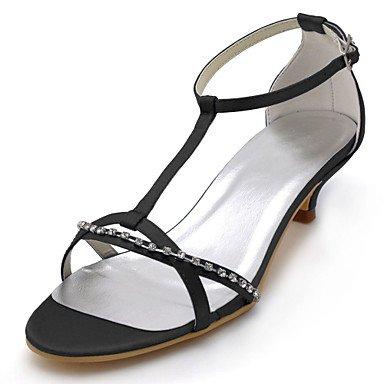Summer Shoes Negro 1A Noche Azul De 5 De 10 EU41 Stretch Pulg Satén amp;Amp; 3 Cristal Party De US9 Bomba 1 Mujeres'S Talón Básica Wedding Vestido Las 8 CN42 Púrpura Gatito 4 5 RTRY UK7 1tBzq