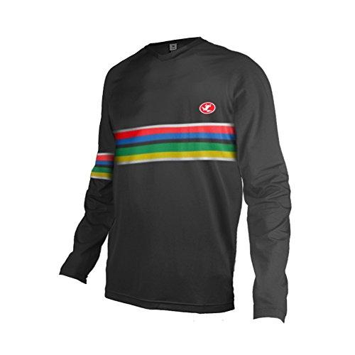 Uglyfrog 2019 Long Sleeve Downhill Jersey Racewear DH/AM/XC/FR/MTB/BMX/Moto Enduro Offroad Bike Wear Cycling Jersey - Off Road Cycling Sock