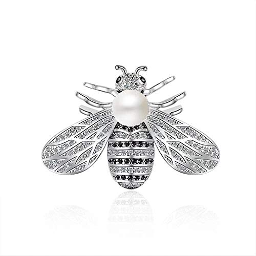 Mondora Prom Brooch Pin Honeybee Insect Women