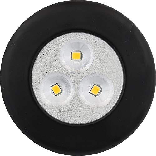 Amerelle 75302B LED Black Light -N-Up Tap On/Off Utility Light, 3-Pack