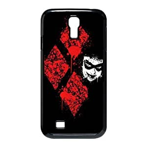 wugdiy Customized Cell Phone Case Cover for SamSung Galaxy S4 I9500 with DIY Design Harley Quinn
