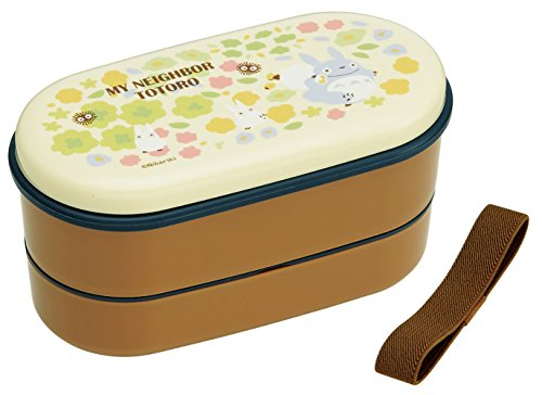 Bento: Studio Ghibli Totoro Design 2-tier Microwavable Lunch Box (Volume: 380ml, 250ml)