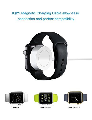 IQIYI Apple Watch Charger, Apple MFi Certified, 1.0ft(0.3M) Magnetic Charging Cable Cord for Apple Watch/iWatch Series 1/2/3 (38mm & 42mm) Portable Charger by IQIYI (Image #5)