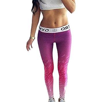 JIALELE Pantalon Yoga Pantalones De Yoga Estiramiento ...