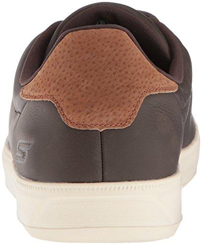 VULC Skechers 2 Go Chocolate Sneaker Braun Leather Herren ZnqanvgRWP