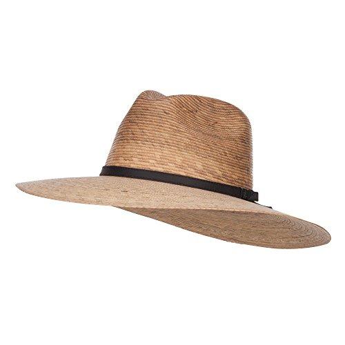 Men's Palm Braid Safari Hat - Dk Palm XL
