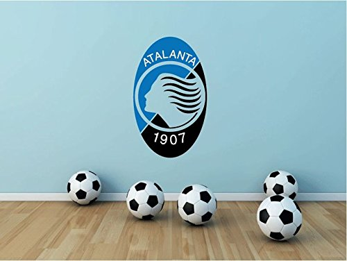 Atalanta Bergamo FC Italy Soccer Football Sport Art Wall Decor Sticker 25'' X 15'' by postteam