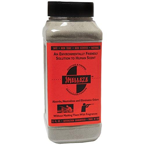 SMELLEZE Natural Human Scent Remover Deodorizer: 2 lb. Powder Gets Hunting Scent -