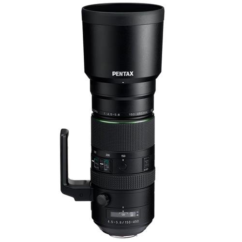 Pentax HD D FA 150-450mm f4.5-5.6ED DC AW Super-Telephoto Le
