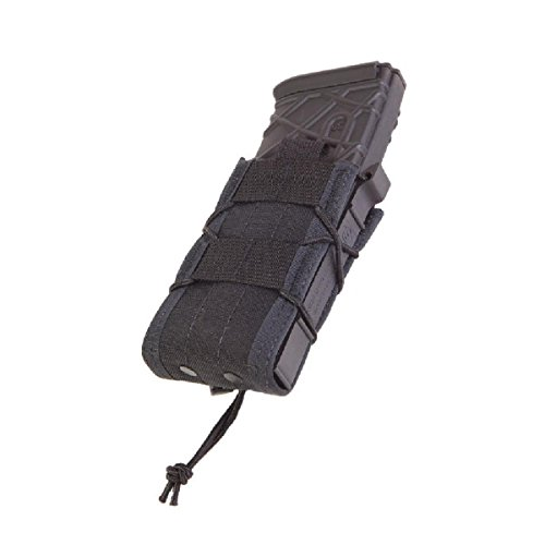 High Speed Gear Belt Mounted Single Rifle Mag Taco Pouch Black 13Ta00Bk (Pouch Rifle Magazine)