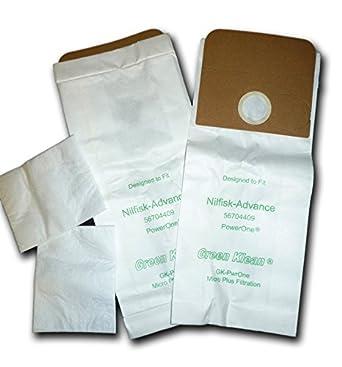 Amazon.com: Verde Klean gk-pwrone Sustitución bolsas de ...