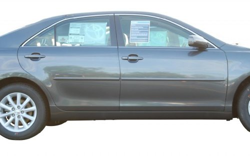 (Toyota Camry Body Side Moldings Painted in the Factory Paint Code of Your Choice 1F7)