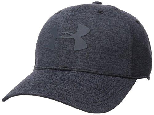 Under Armour Men's Armour Twist 2.0 Cap, Black (001)/Stealth Gray, Large/X-Large (Under Armour Hats For Men)