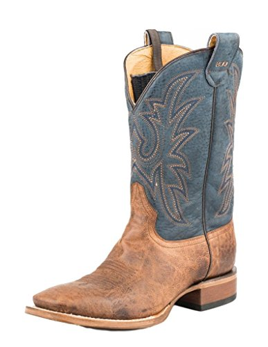Roper Western Boots Mens Perfora Piazza 11 09-020-8200-0809 Ta Tan