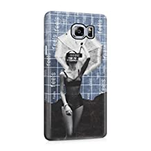 Sexy Naked Girl Ignore Feels Pattern Plastic Phone Snap On Back Cover Shell For Samsung Galaxy Note 5