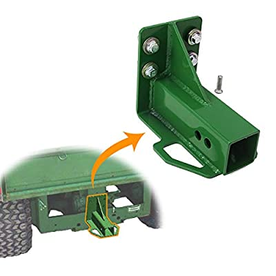 tiewards Rear Trailer Hitch Receiver Fit for John Deere Gator 4x2 6x4 Old Style w/Hardware: Automotive