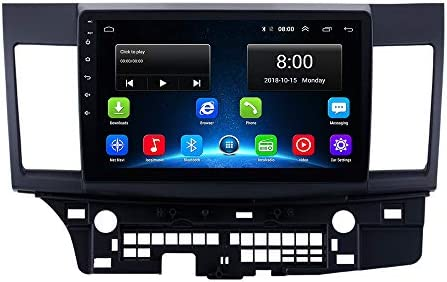 Lancer Android 9.1 2+32G Mitsubishi Lancer 10 EVO 2.5D IPS Android 9.1 Car Radio GPS Stereo Navi Head Unit Multimedia Video Player with Bluetooth WiFi BT Touch Screen Navigation