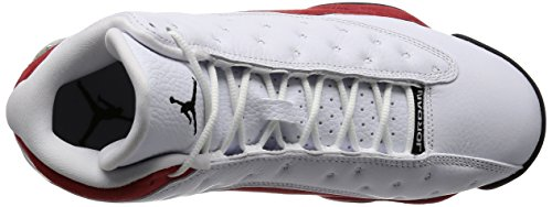 Nike Jr T90 Shoot Iv Ic - Zapatillas de fútbol de ante para niño white, black-team red