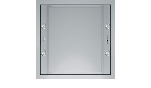 Siemens LF959RA51 - Campana (Canalizado/Recirculación, 820 m³/h, 600 m³/h, Empotrable en techo, LED, Acero inoxidable): Amazon.es: Grandes electrodomésticos