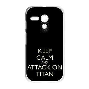 Attack On Titan Motorola G Cell Phone Case White VC940148
