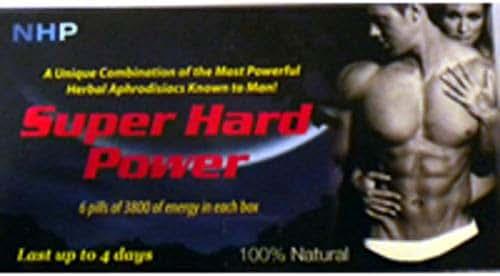 NPI Super Hard Power 6 Count