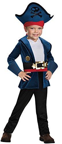 BESTPR1CE Toddler Halloween Costume- Captain Jake Classic Toddler Costume 3T-4T