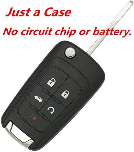 KAWIHEN Keyless Entry Remote Car Key Fob Shell Replacement for OHT01060512 KR55WK50073 Chevrolet Camaro Cruze Equinox Impala Malibu SS Sonic Buick Encore LaCrosse Regal Verano GMC Terrain
