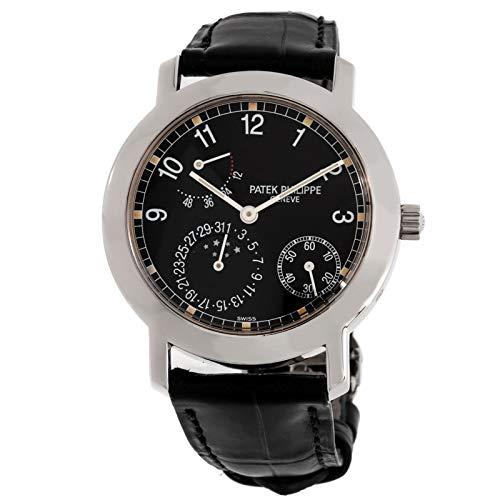 Patek Philippe Gold Dial - Patek Philippe Calatrava Mechanical (Automatic) Black Dial Mens Watch 5055G (Certified Pre-Owned)