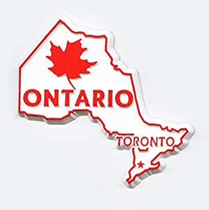 Ontario Canadian Province Outline Magnet