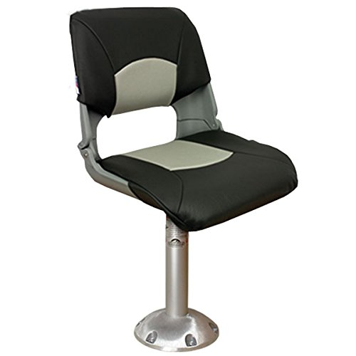 Springfield Fma Chair Package with Cushions, Marine Grey/Charcoal Anodized Finish