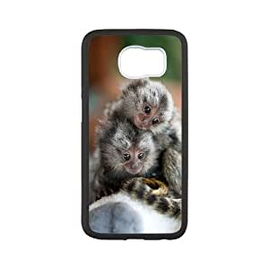 WINDFC Baby Monkey Phone Case For Samsung Galaxy S6 G9200 [Pattern-6]