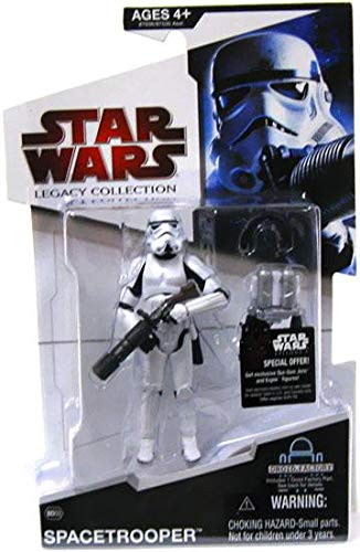 - Spacetrooper BD#03 Star Wars Legacy Collection Action Figure