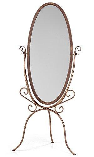 Amazon.com: Boutique Cheval Floor Mirror – Cobblestone,• Overall ...