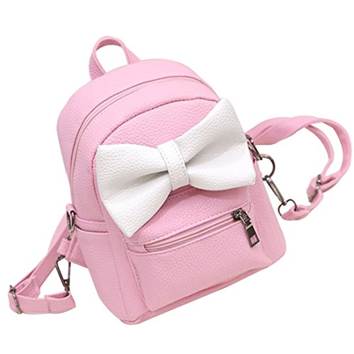 1791f9e772 Basilion Kids Cute Bow Tie knot Mini Backpack Small Children Cartoon Bag