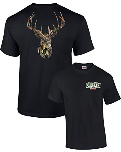 Mossy Oak Camoflage Deer Head Men's Hunting -