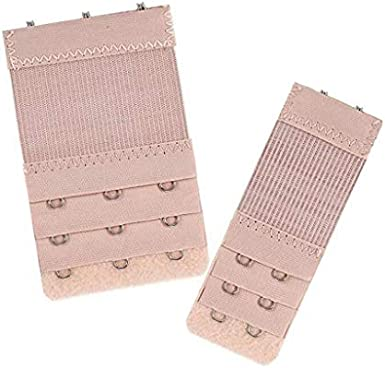 SHOBDW 6PCS Extensores de Sujetador Tirantes y Alargador del Sujetador Antideslizantes Accesorios para Sujetador Tela de Nylon Hebilla de Acero Inoxidable