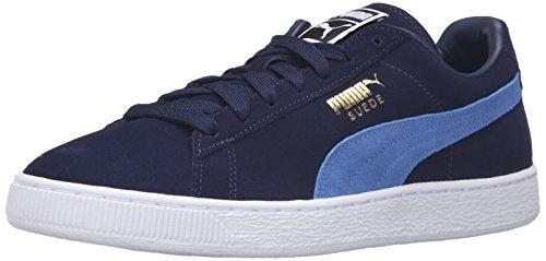 PUMA Adult Suede Classic Shoe Peacoat/Blue Yonder