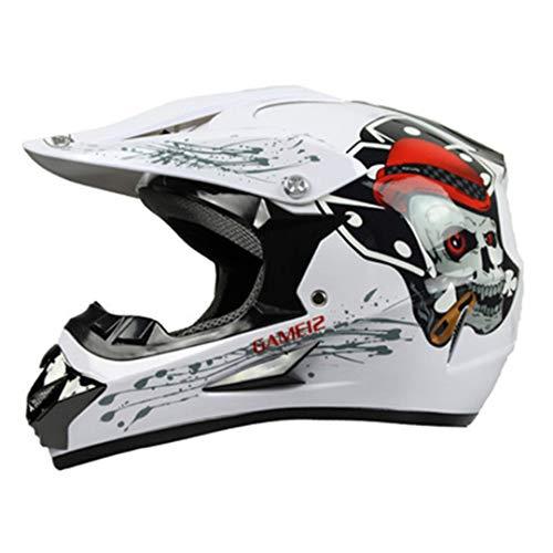(Motocross Helmet Off Road Professional ATV Cross Helmets MTB DH Racing Motorcycle Helmet Dirt Bike 3 M)
