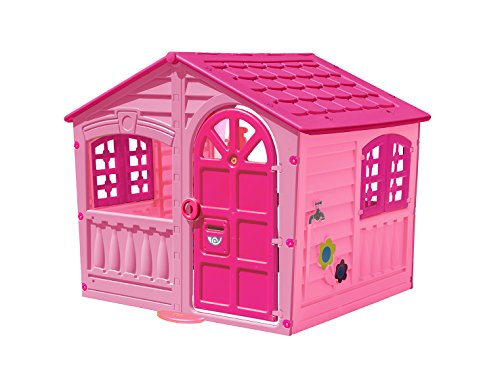 (Palplay Colorful Fun House, Medium, Pink/Purple)