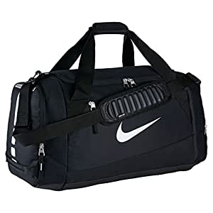 80c5e5f2c54f Amazon.com  Nike Hoops Elite Team Black Duffel Gym Bag for Men and ...