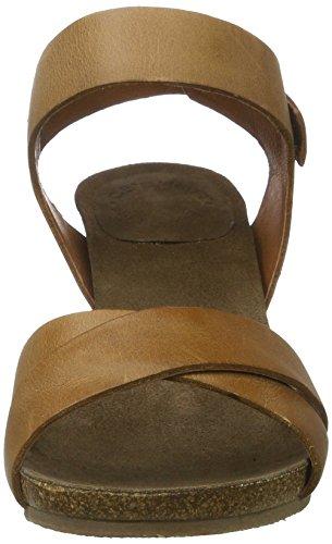 Cashott Vrouwen A15054 Sandaaltjes Bruin (camel West 135)