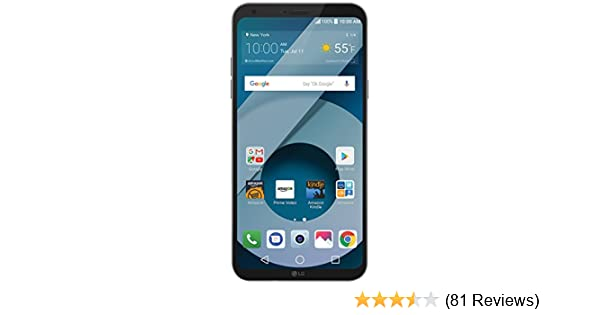 LG Q6-32 GB - Unlocked (AT&T/T-Mobile) - Platinum - Prime Exclusive